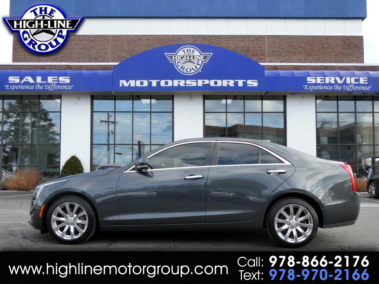 2017 Cadillac ATS Sedan 4dr Sdn 2.0L Luxury AWD