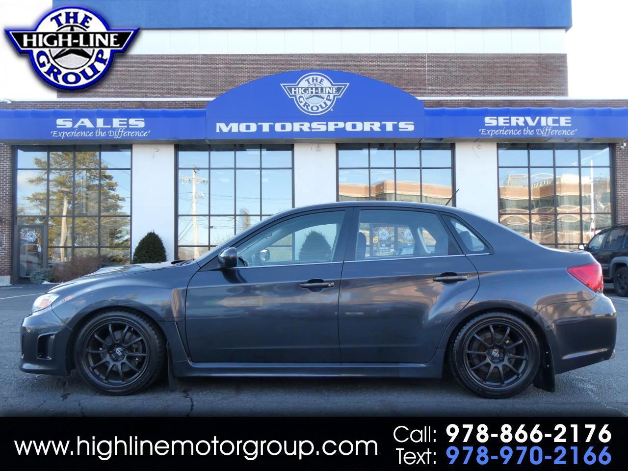 Subaru Impreza Sedan WRX 4dr Man WRX 2012