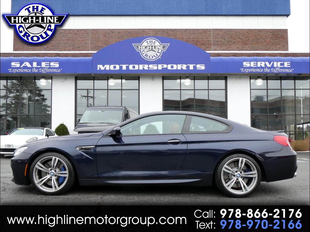 BMW M6 2dr Cpe 2014