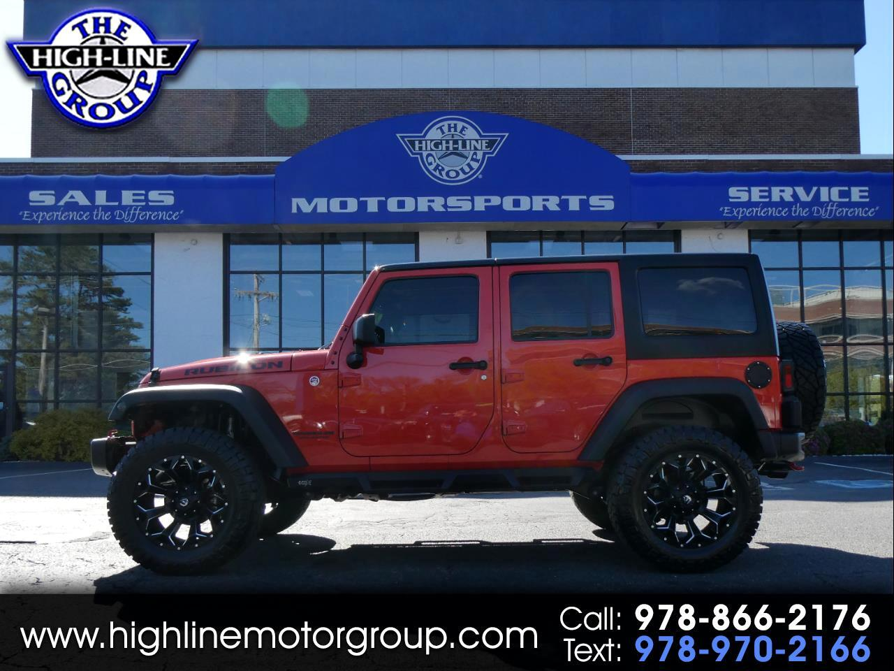 Jeep Wrangler Unlimited 4WD 4dr Rubicon Hard Rock 2015
