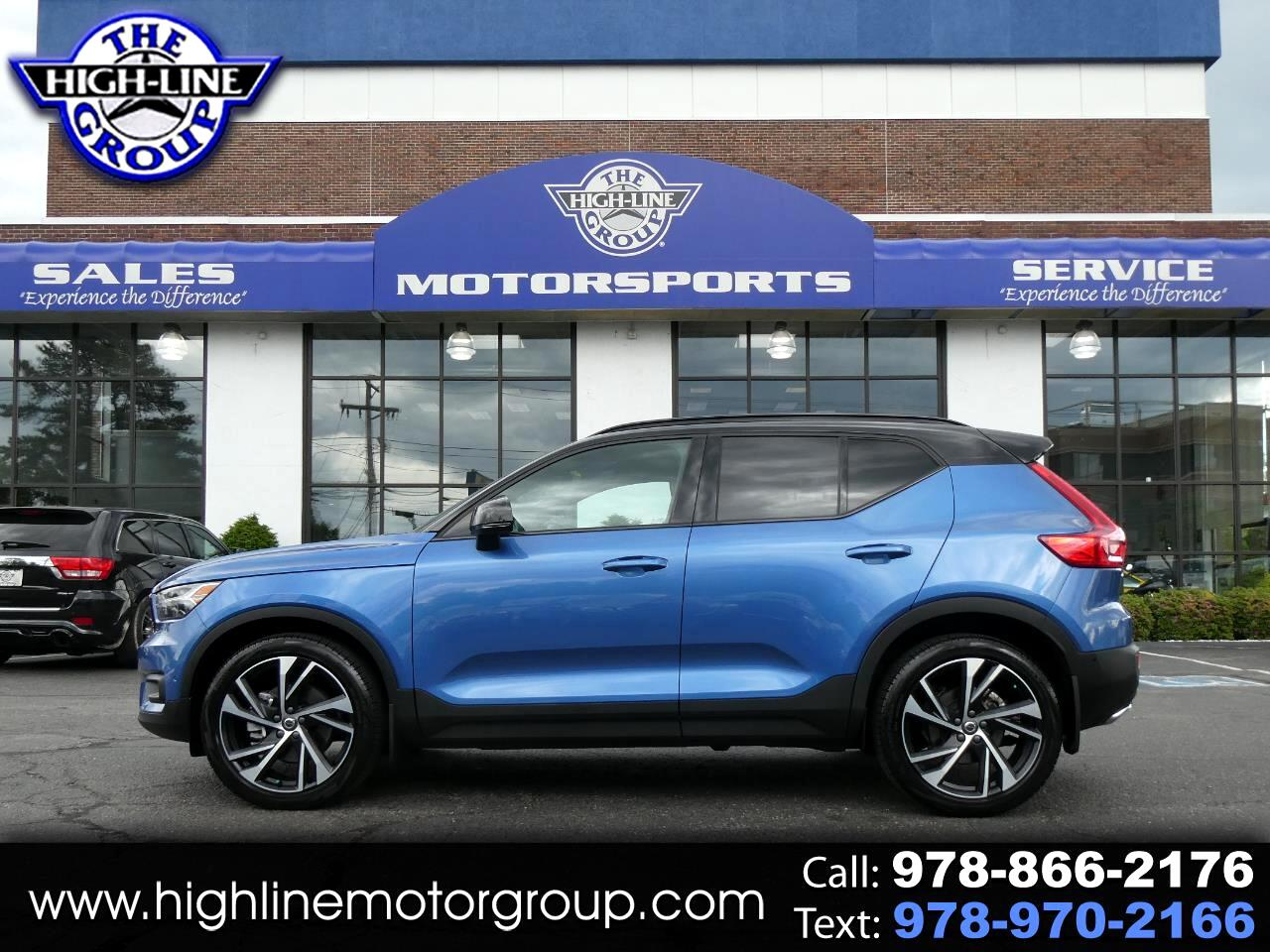 Used 2019 Volvo Xc40 T5 Awd R Design For Sale In Lowell Ma 01851 The Highline Group