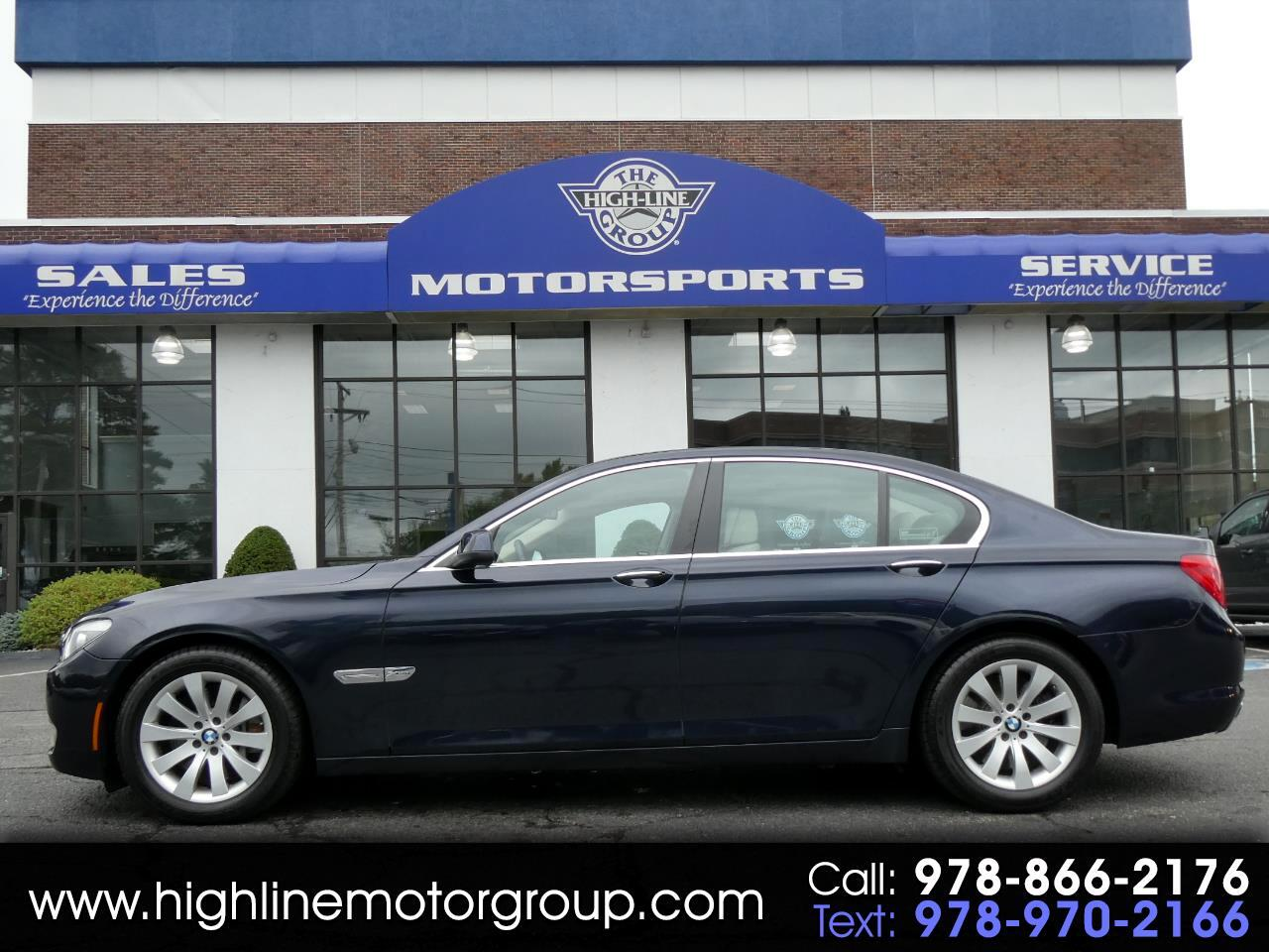 BMW 7 Series 4dr Sdn 750i xDrive AWD 2011
