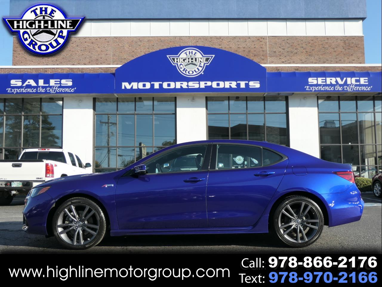 Used 2018 Acura Tlx 3 5l Sh Awd W A Spec Pkg For Sale In Lowell Ma 01851 The Highline Group