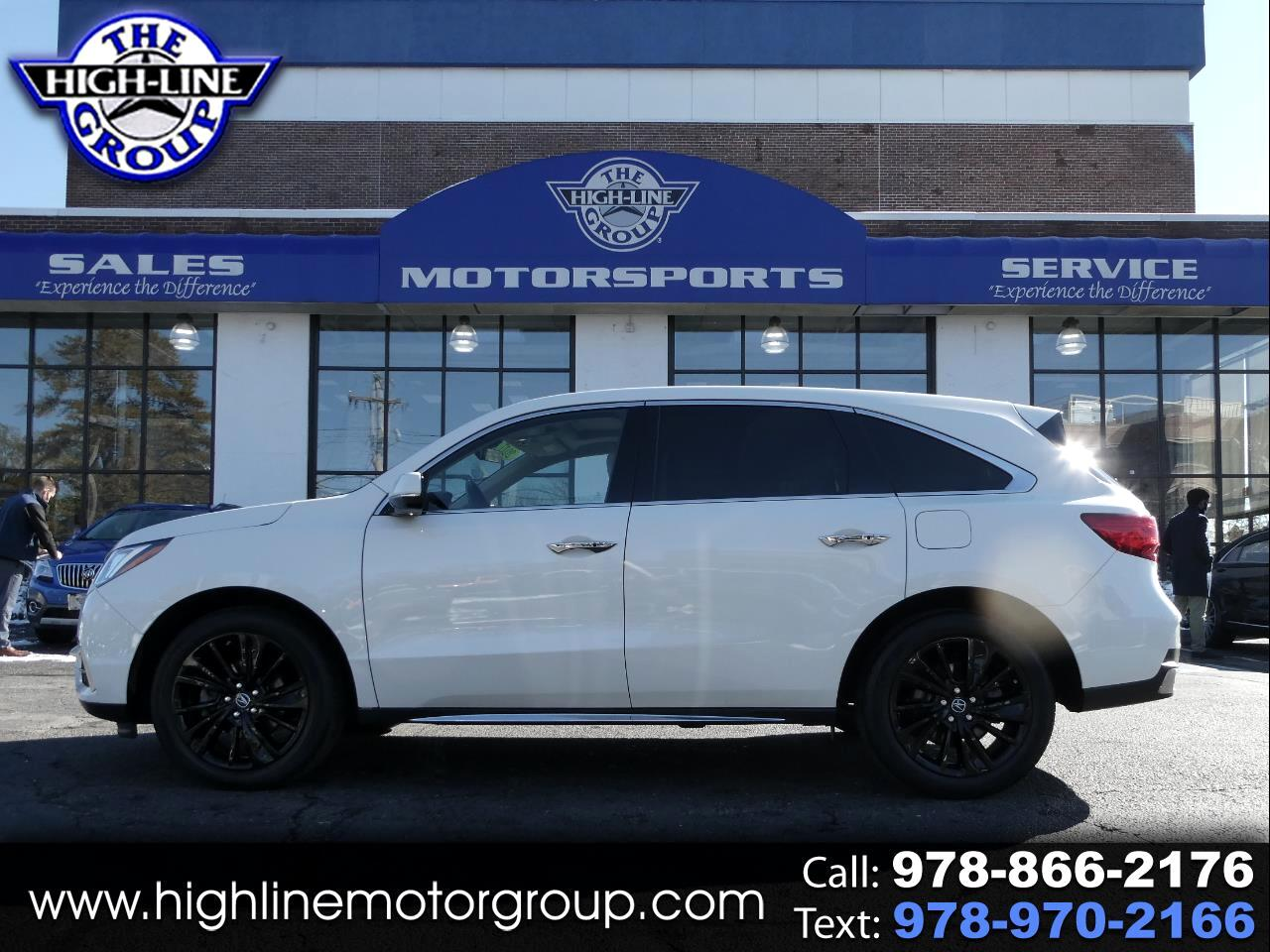 Acura MDX SH-AWD w/Technology Pkg 2017
