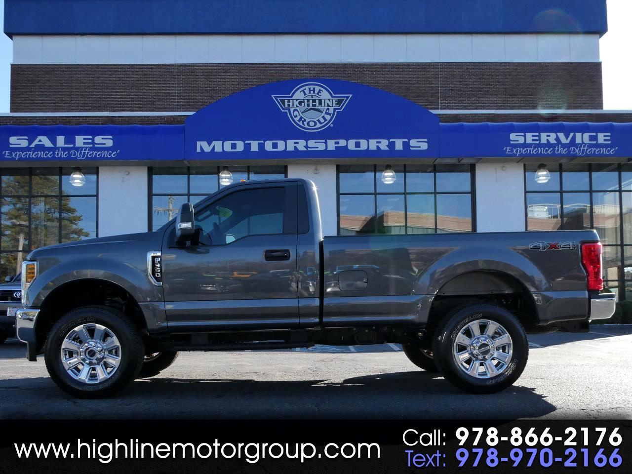 Ford Super Duty F-350 SRW XLT 4WD Reg Cab 8' Box 2019