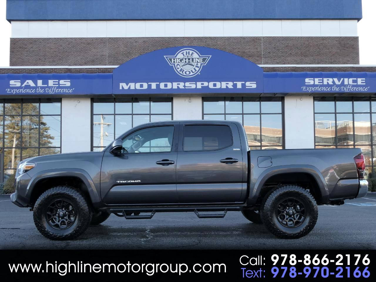 Toyota Tacoma 4WD SR Double Cab 5' Bed V6 AT (Natl) 2019