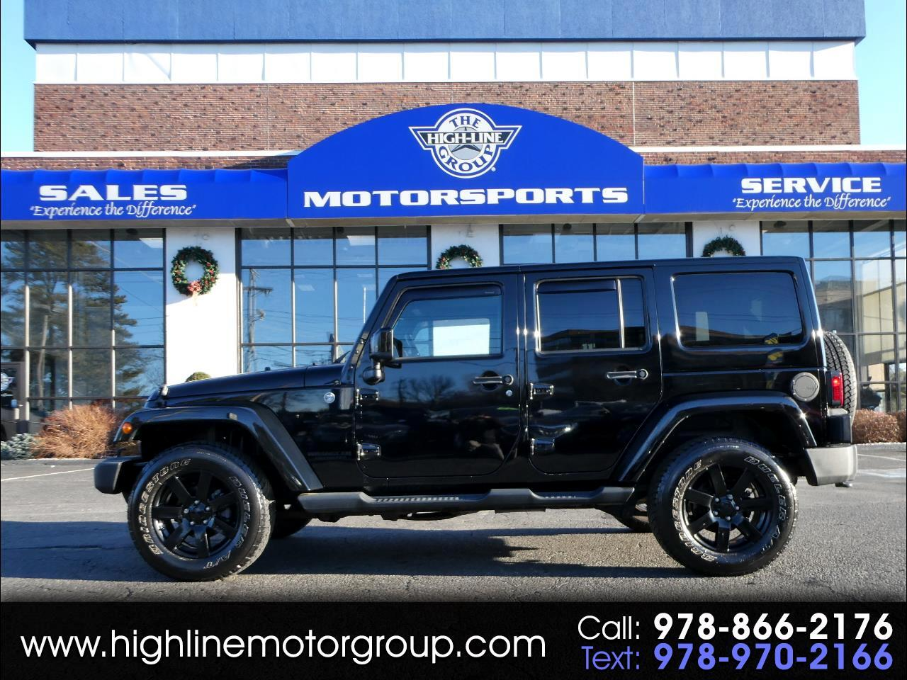 Jeep Wrangler Unlimited 4WD 4dr Altitude 2014