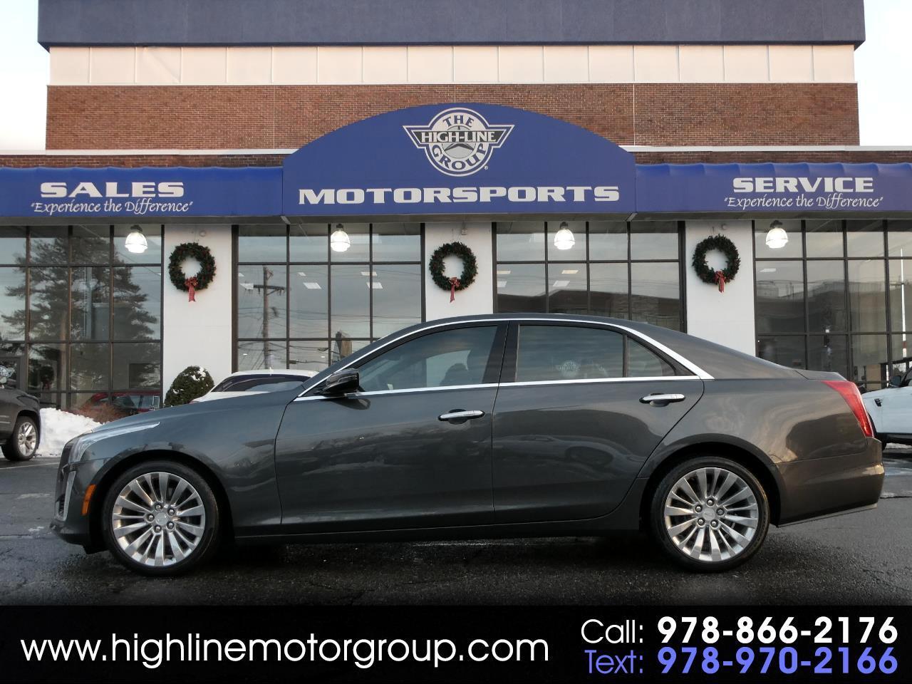 Cadillac CTS Sedan 4dr Sdn 2.0L Turbo Luxury AWD 2017
