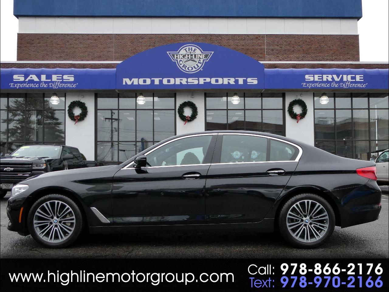 BMW 5 Series 540i xDrive Sedan 2018