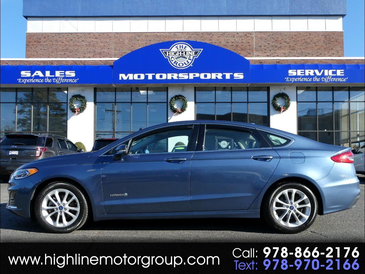 Ford Fusion Hybrid SEL FWD 2019