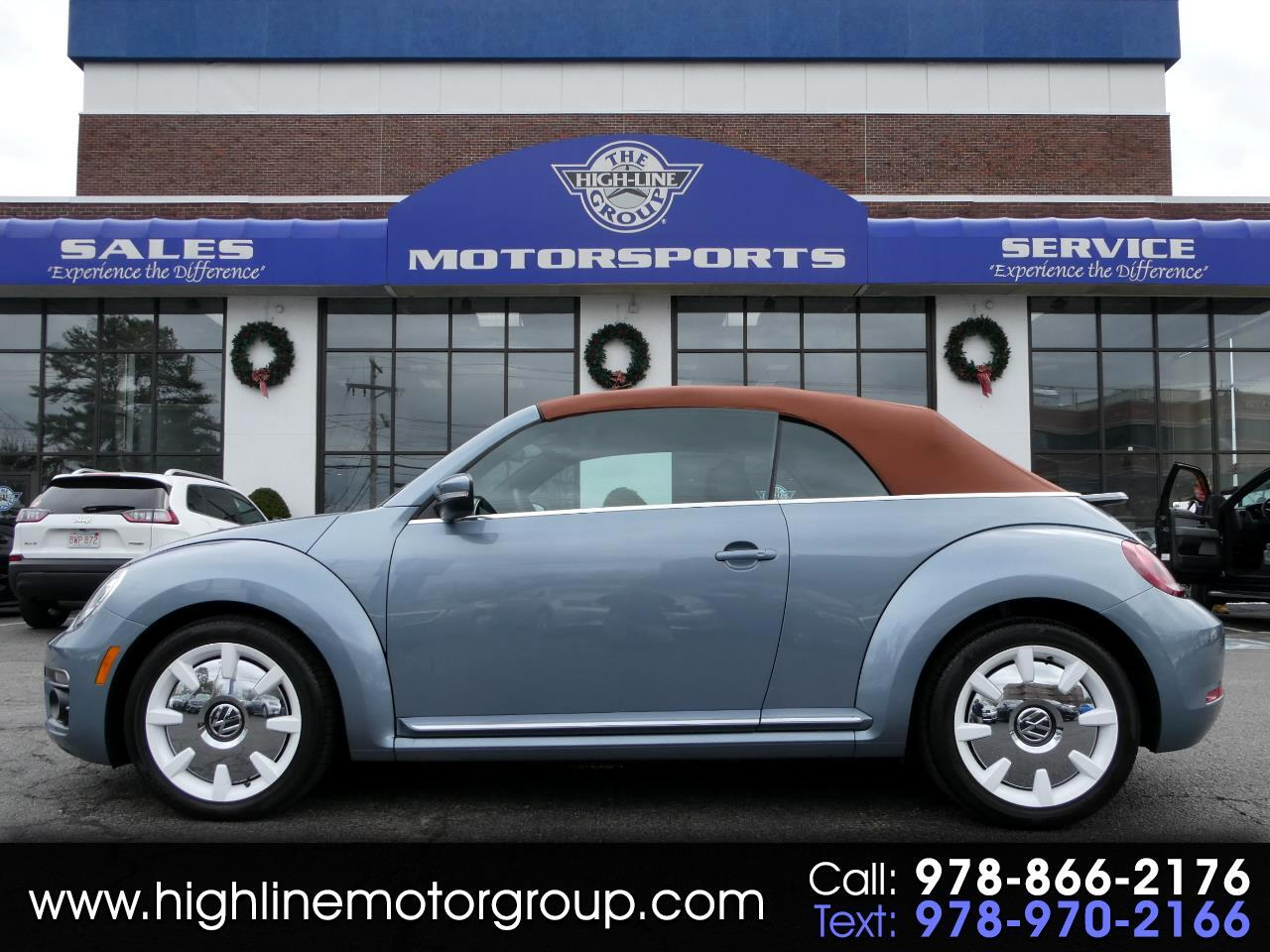 Volkswagen Beetle Convertible Final Edition SEL Auto 2019