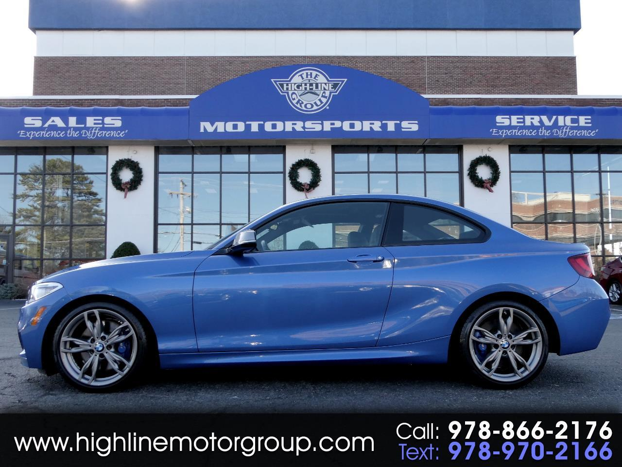 BMW 2 Series M240i xDrive Coupe 2017