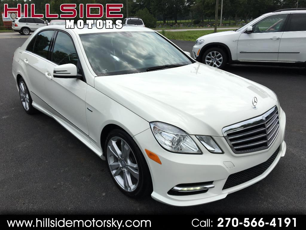 2012 Mercedes-Benz E-Class E350 Sedan Sport
