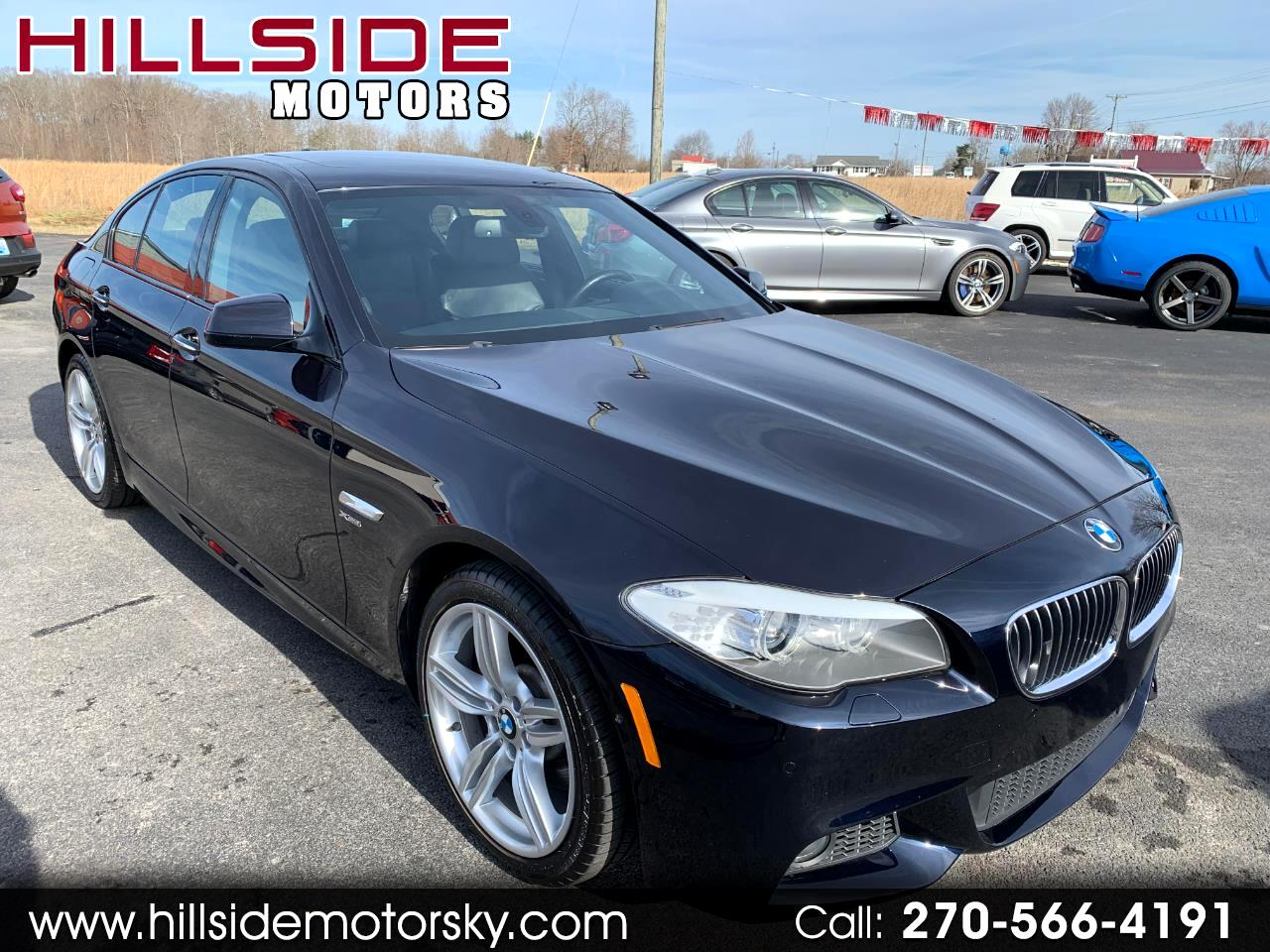 2011 BMW 5-Series 535xi M sport