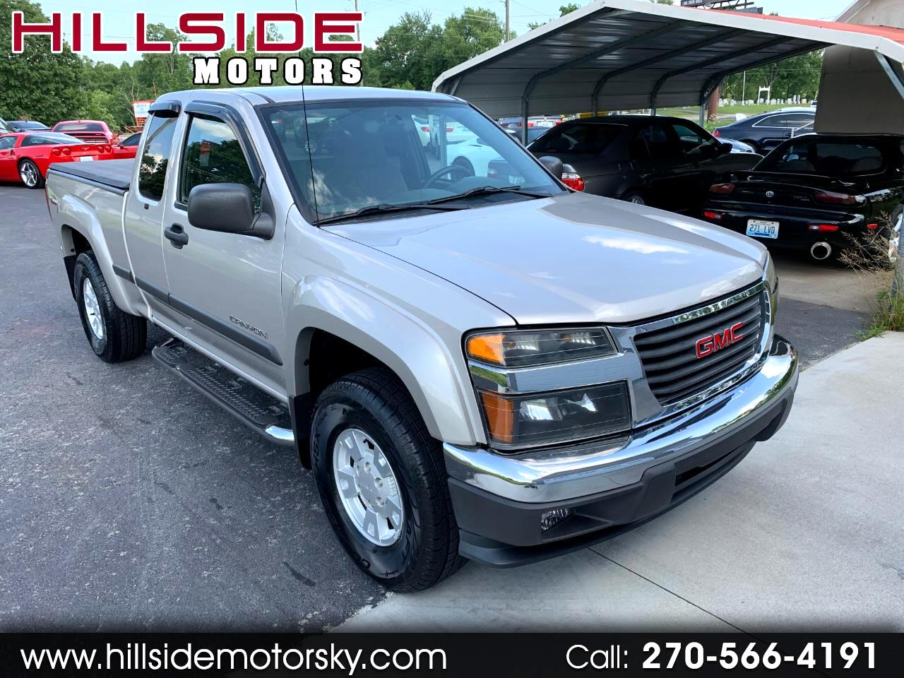 2005 GMC Canyon SLE Z71 Ext. Cab 4WD