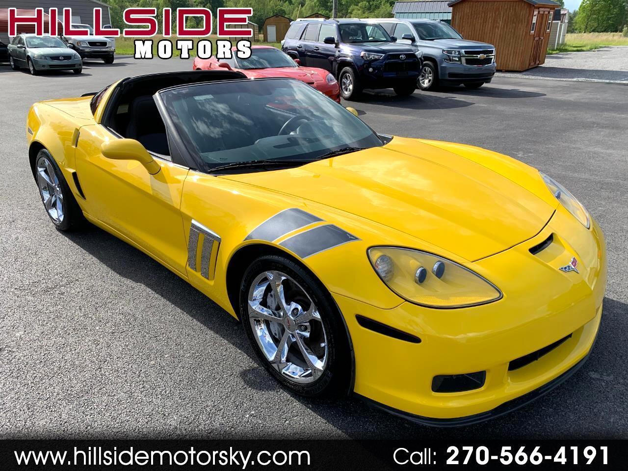 Chevrolet Corvette 2dr Cpe Z16 Grand Sport w/3LT 2011