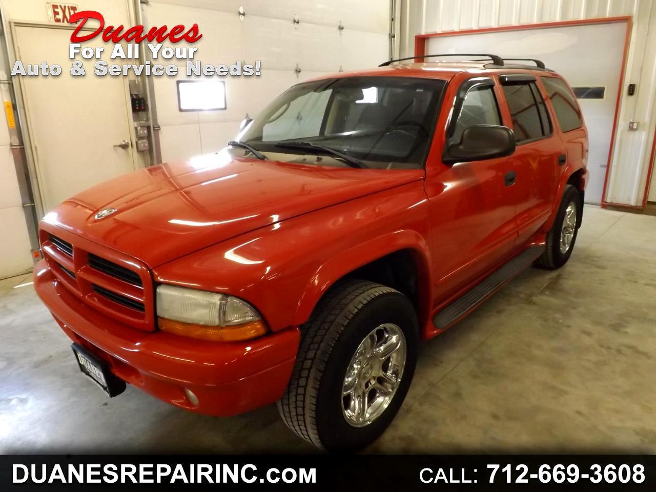 2003 Dodge Durango R/T 4WD