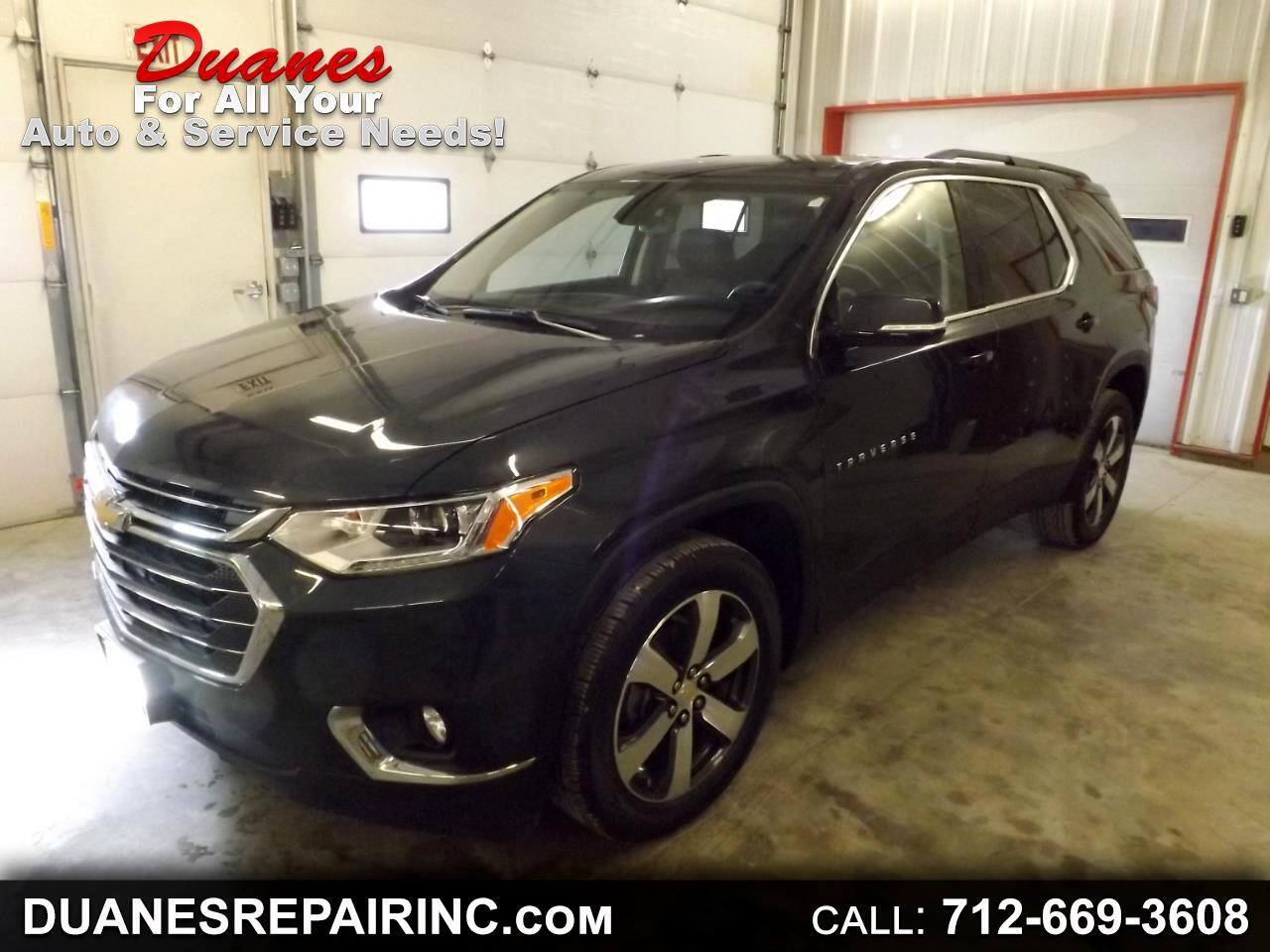 Chevrolet Traverse AWD 4dr LT Leather 2019