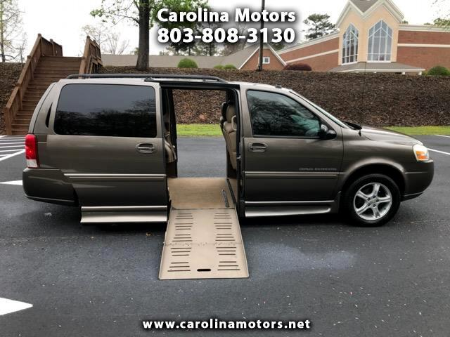 2005 Chevrolet Uplander Braun Lowered floor Handicap Wheelchair Van