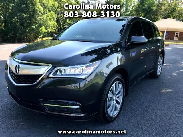 2016 Acura MDX 6-Spd AT w/Tech and Entertainment Package
