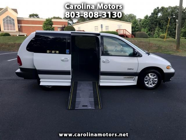 1998 Plymouth Grand Voyager Handicap Accesible Wheelchair Van