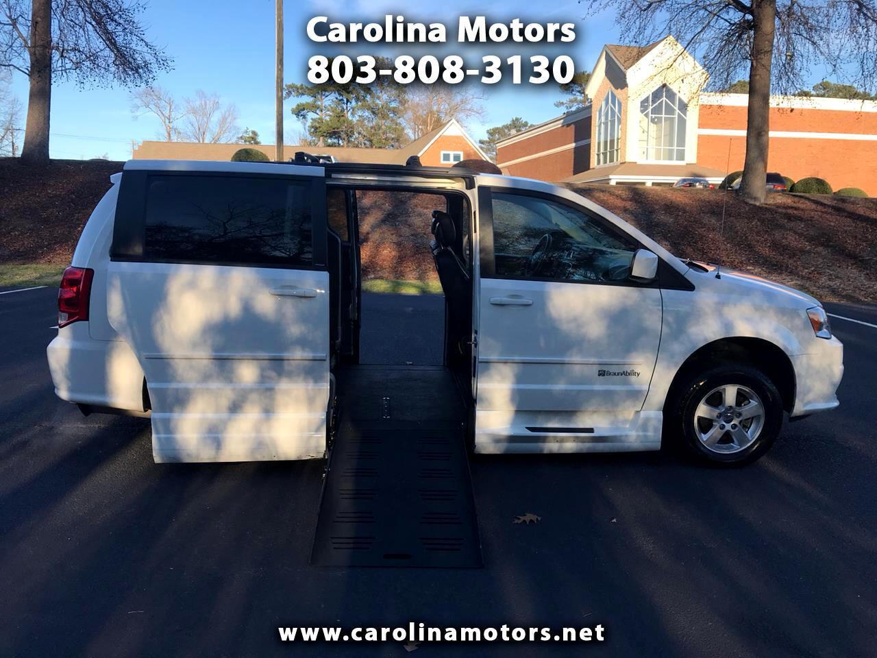 2013 Dodge Grand Caravan Braun XT Wheelchair Van