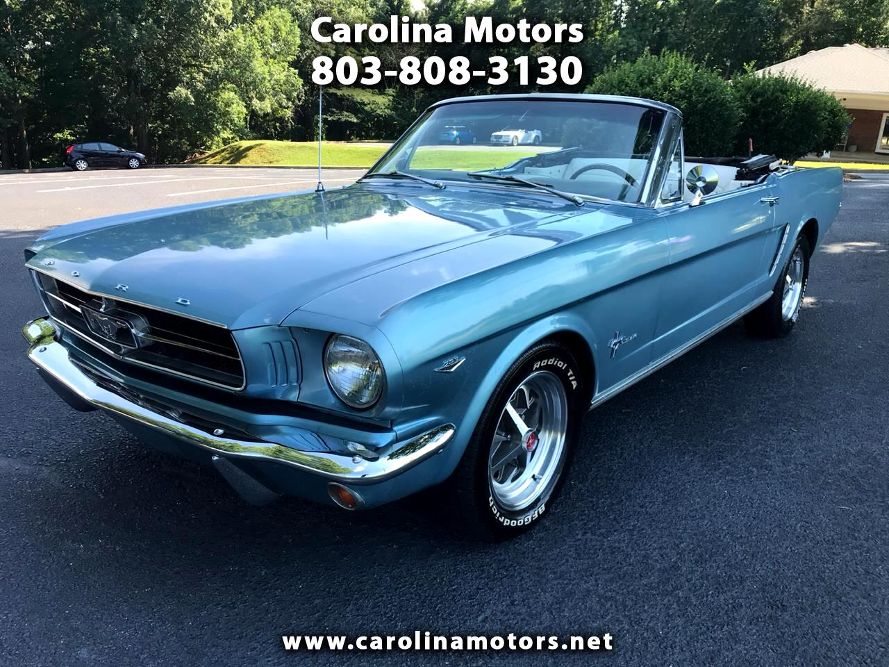 1965 Ford Mustang 2dr Conv