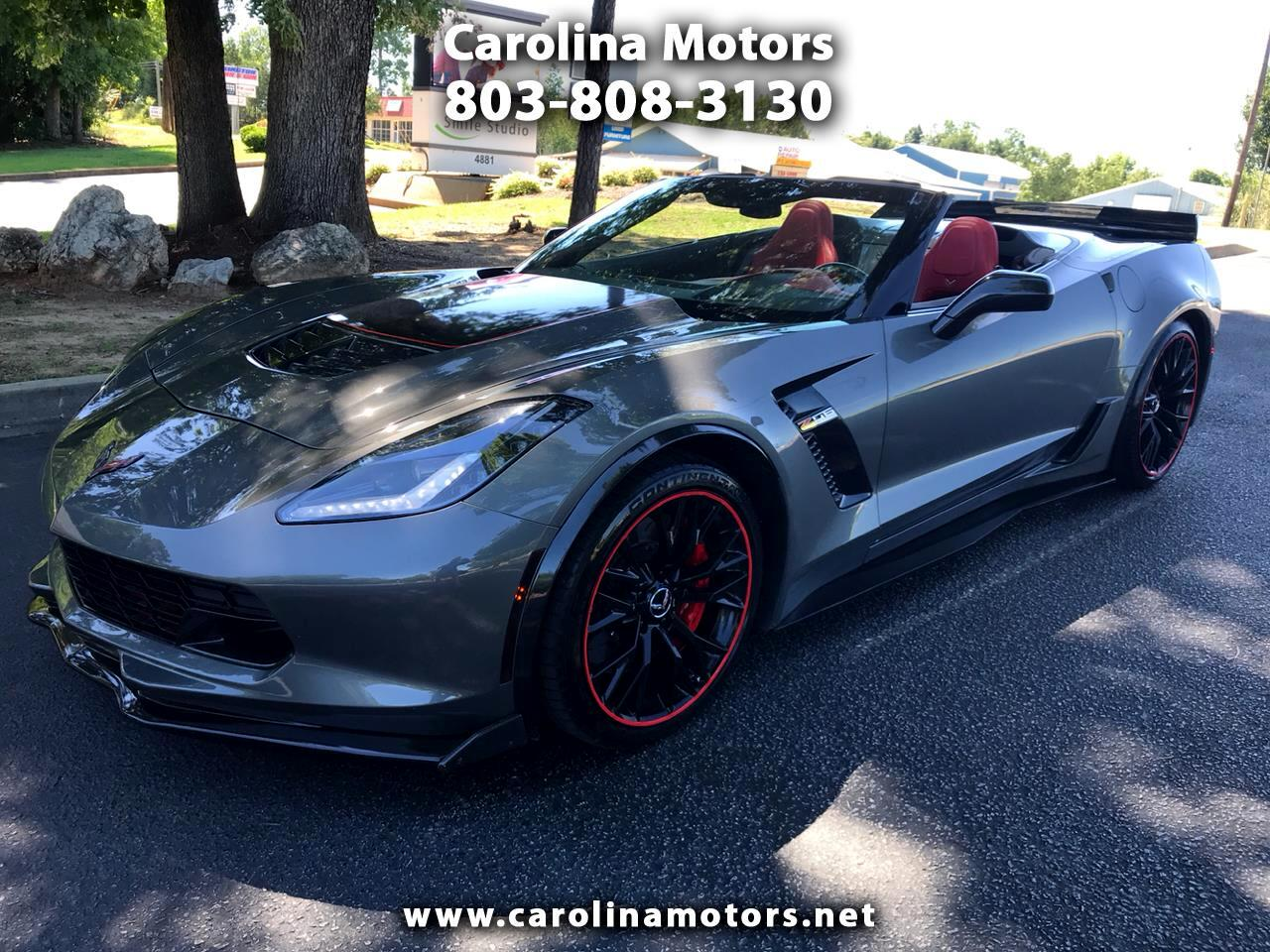 2015 Chevrolet Corvette 2LZ Z06 Convertible