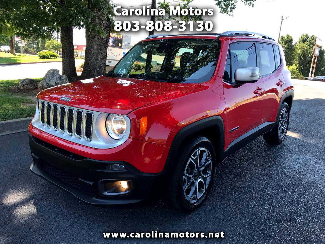 Jeep Renegade Limited FWD 2015