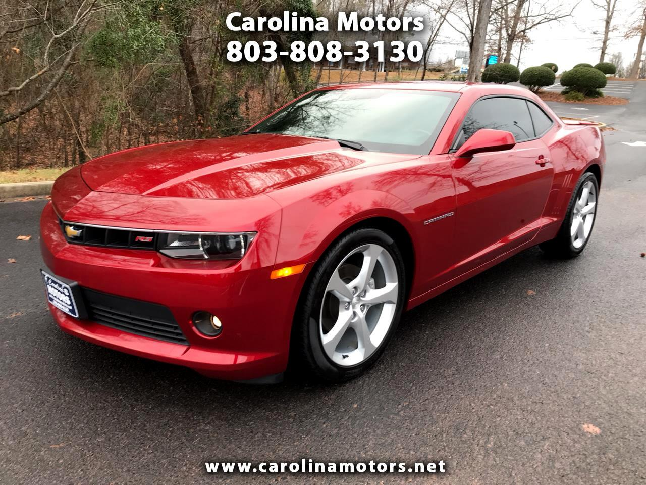 Chevrolet Camaro 2dr Coupe RS 2015