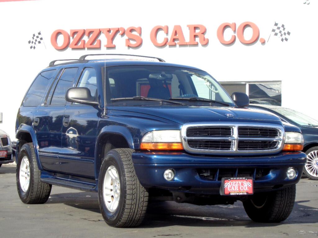 2002 Dodge Durango 4dr 4WD SLT Plus