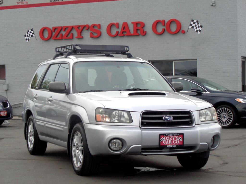 2004 Subaru Forester (Natl) 4dr 2.5 XT Auto