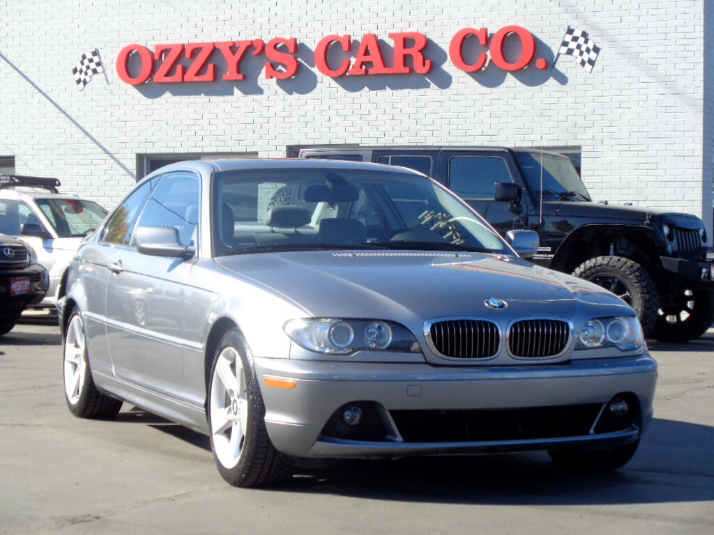 2004 BMW 3 Series 325Ci 2dr Cpe SULEV