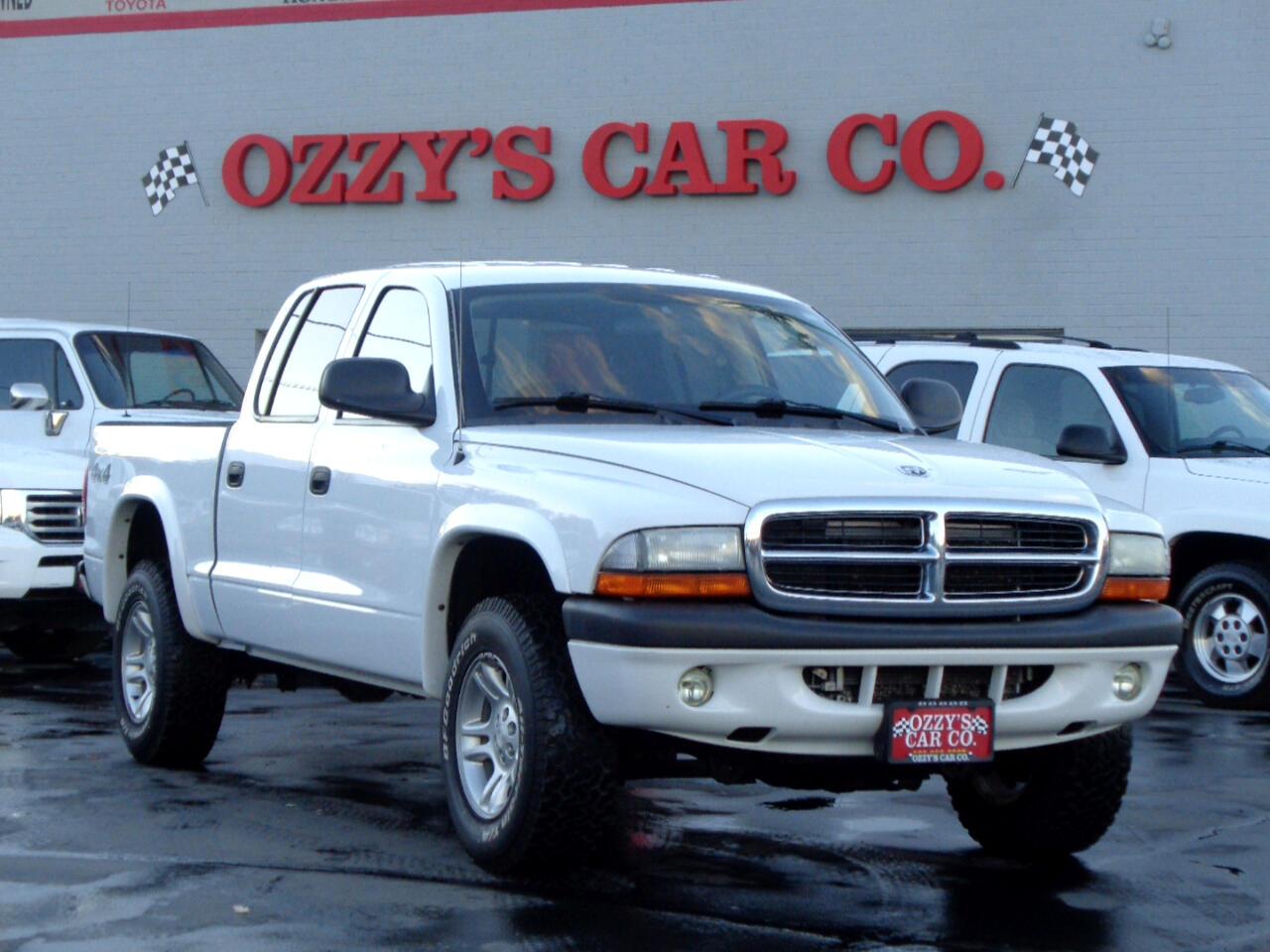 "2004 Dodge Dakota 4dr Quad Cab 131"" WB 4WD Sport"