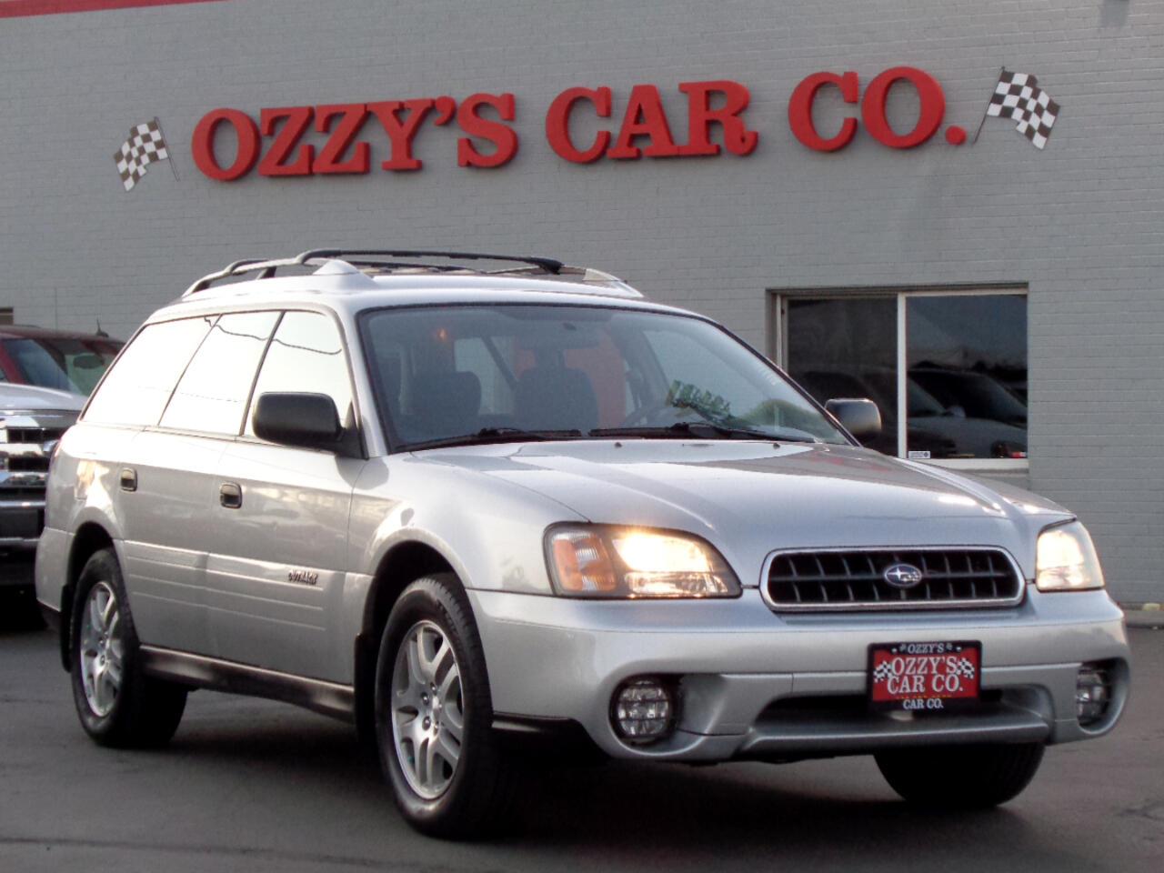 2004 Subaru Legacy Wagon (Natl) 5dr Outback Auto