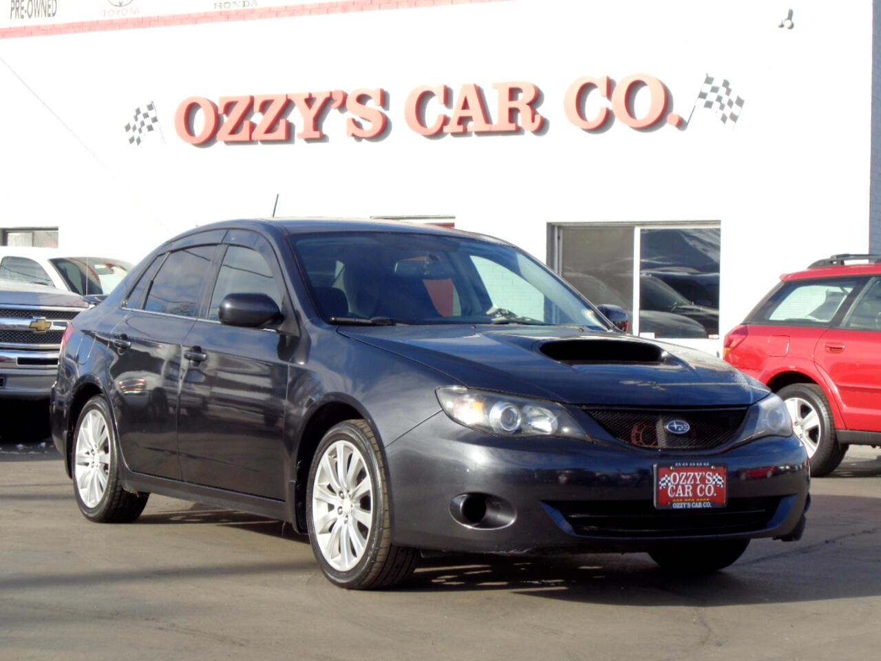 2008 Subaru Impreza Sedan (Natl) 4dr Man WRX