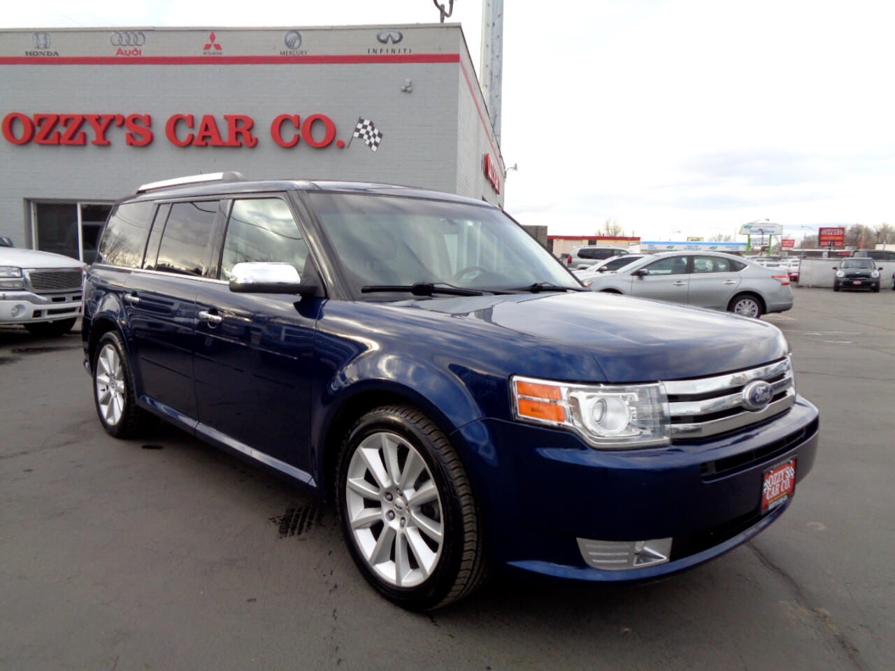 2012 Ford Flex 4dr Limited AWD w/EcoBoost