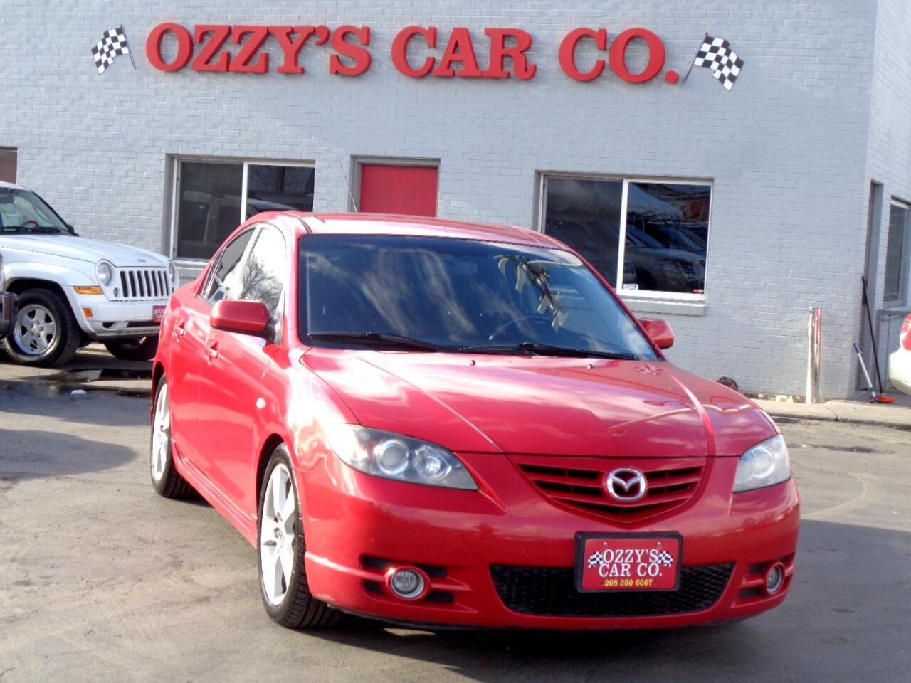 2006 Mazda MAZDA3 4dr Sdn s Touring Manual