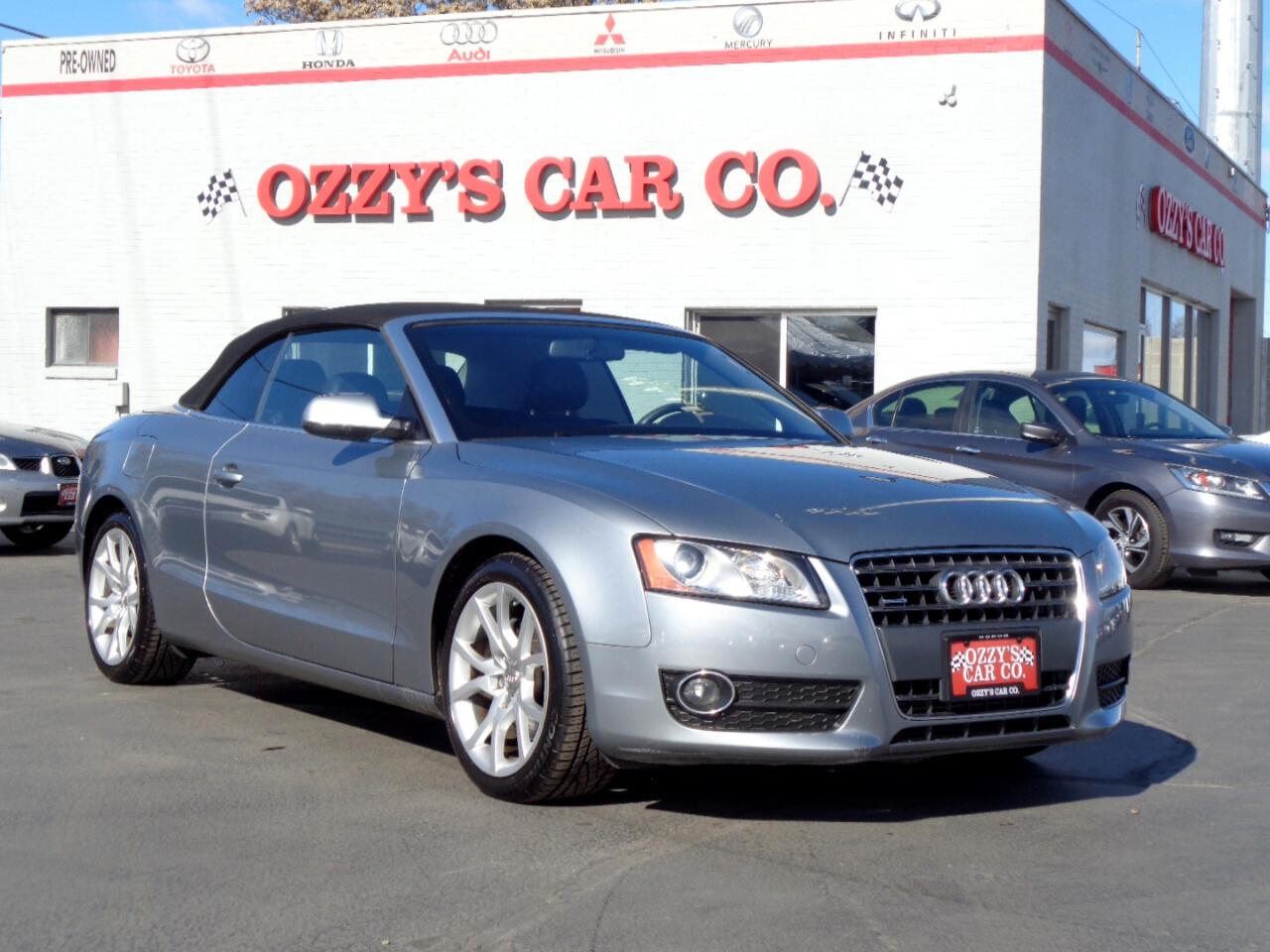 2010 Audi A5 2dr Cabriolet Auto quattro Premium