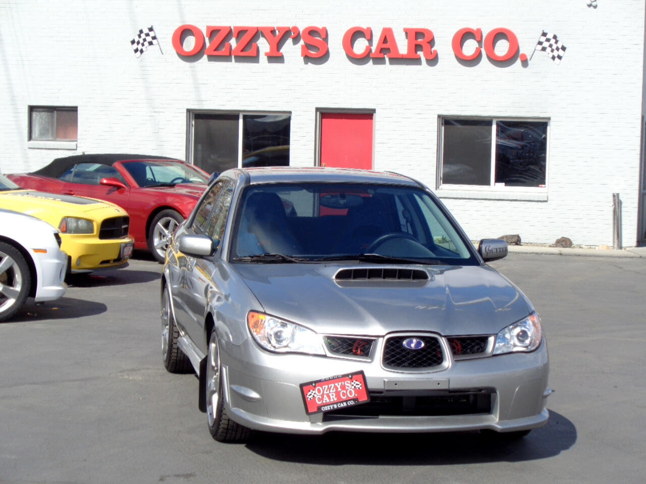 2006 Subaru Impreza Sedan 2.5 WRX STi w/Gold Wheels