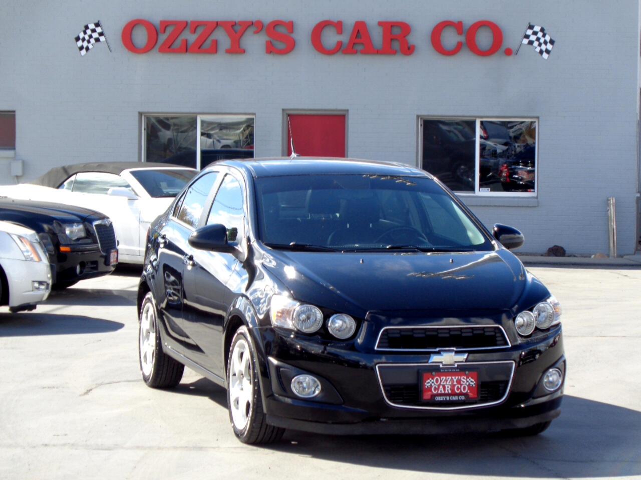 2012 Chevrolet Sonic 4dr Sdn LTZ 2LZ