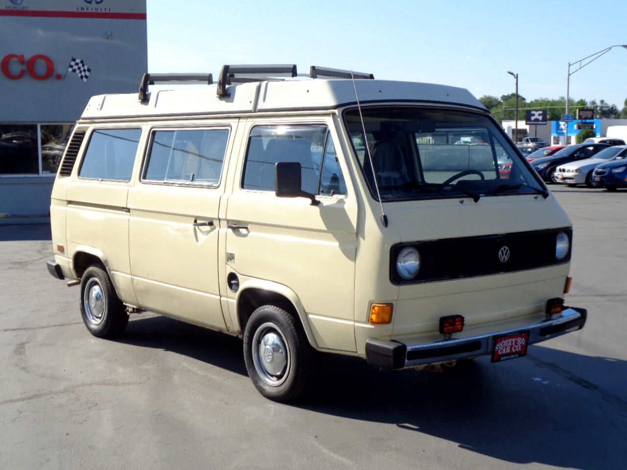 1981 Volkswagen Vanagon/Campmobile Camper Van