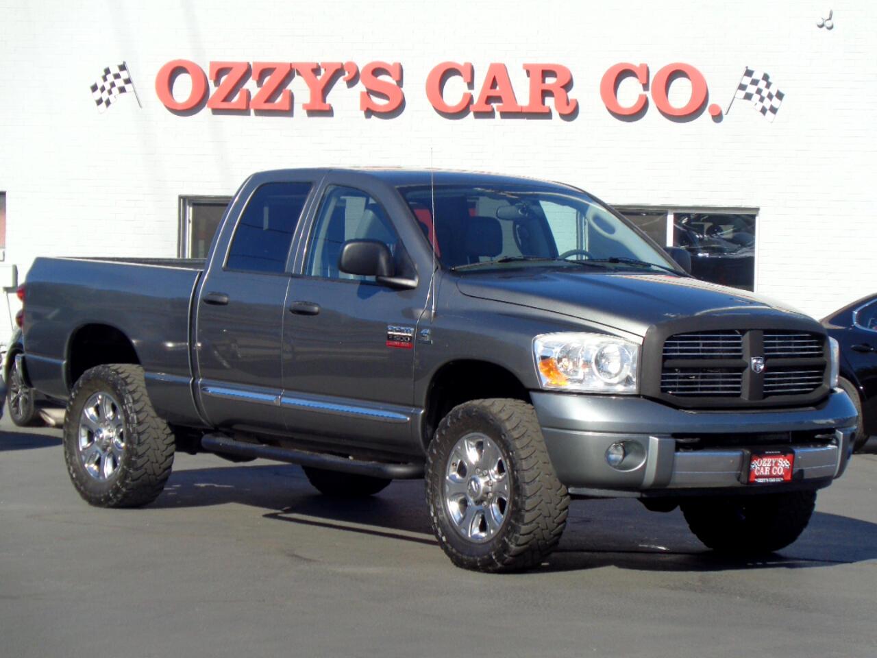 """2008 Dodge Ram 3500 4WD Quad Cab 140.5"""" Laramie"""