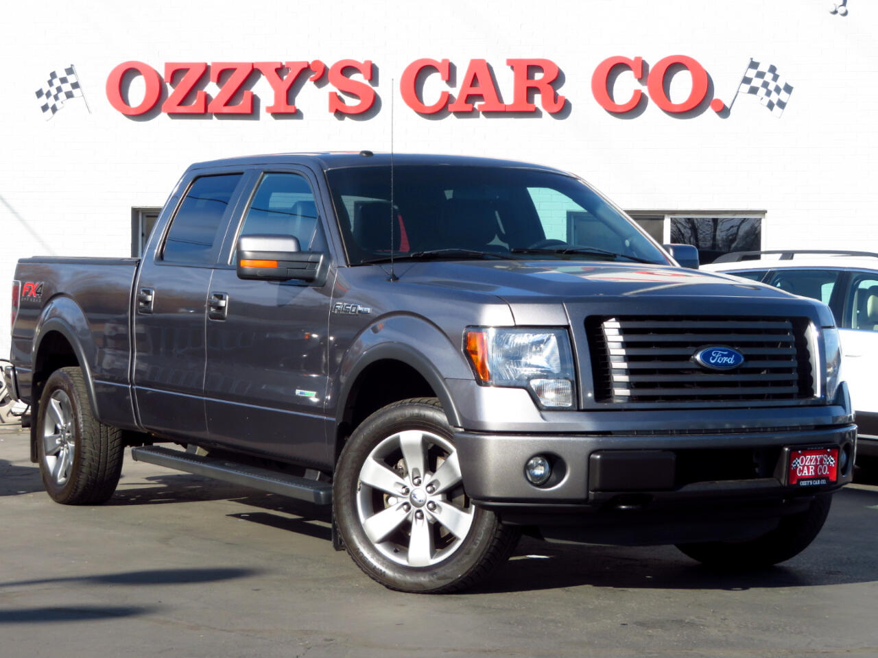 """Ford F-150 4WD SuperCab 145"""" FX4 2012"""