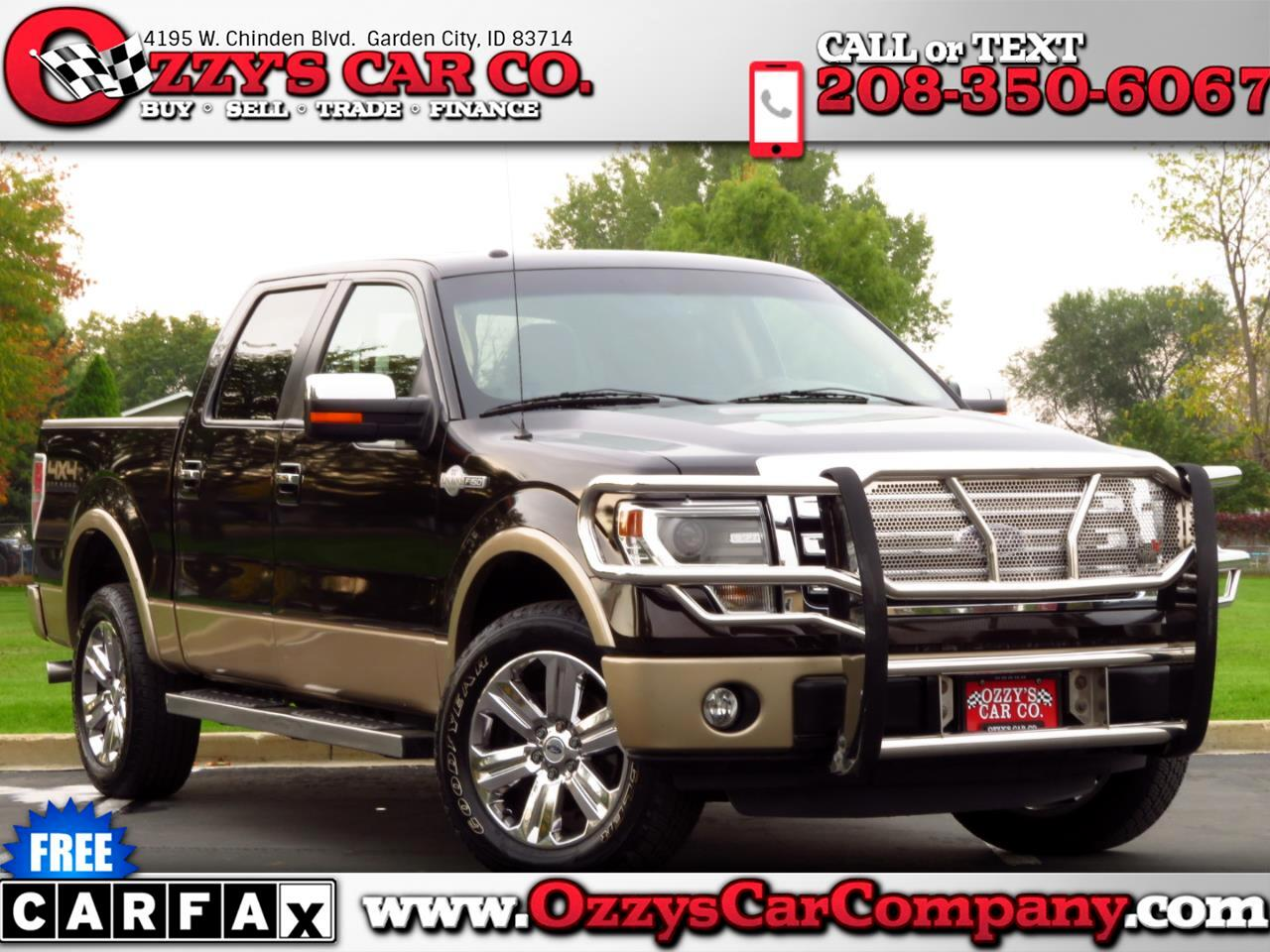"""Ford F-150 4WD SuperCrew 157"""" King Ranch 2013"""