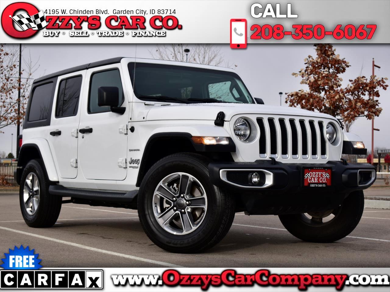 Jeep Wrangler Sahara Altitude Unlimited 4x4 2020