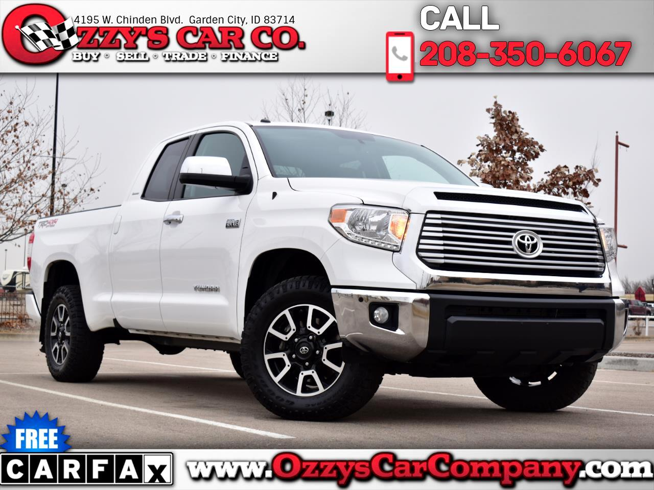 Toyota Tundra 4WD Limited Double Cab 6.5' Bed 5.7L FFV (Natl) 2017