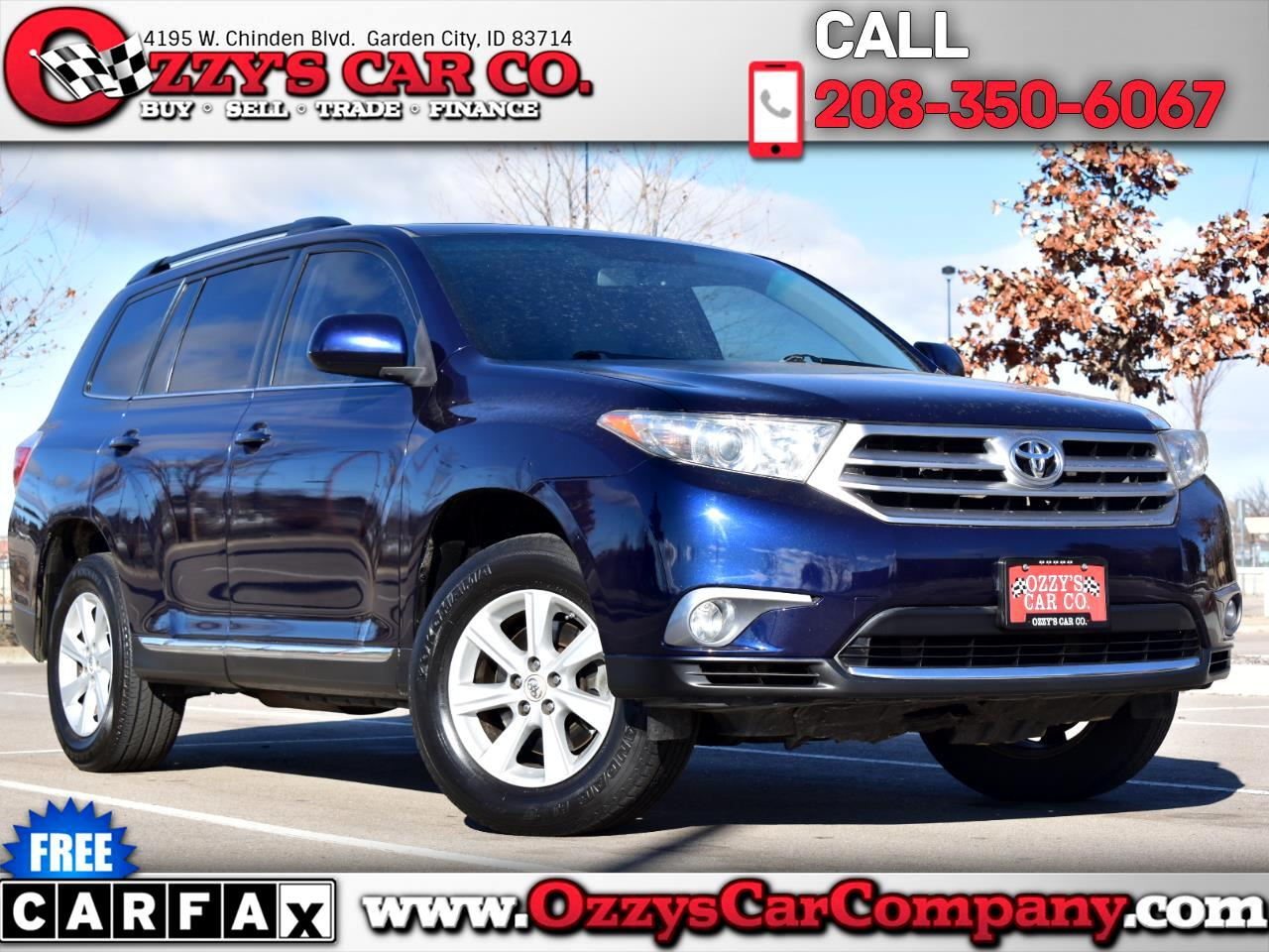 Toyota Highlander Sport 2WD with 3rd-Row Seat 2012