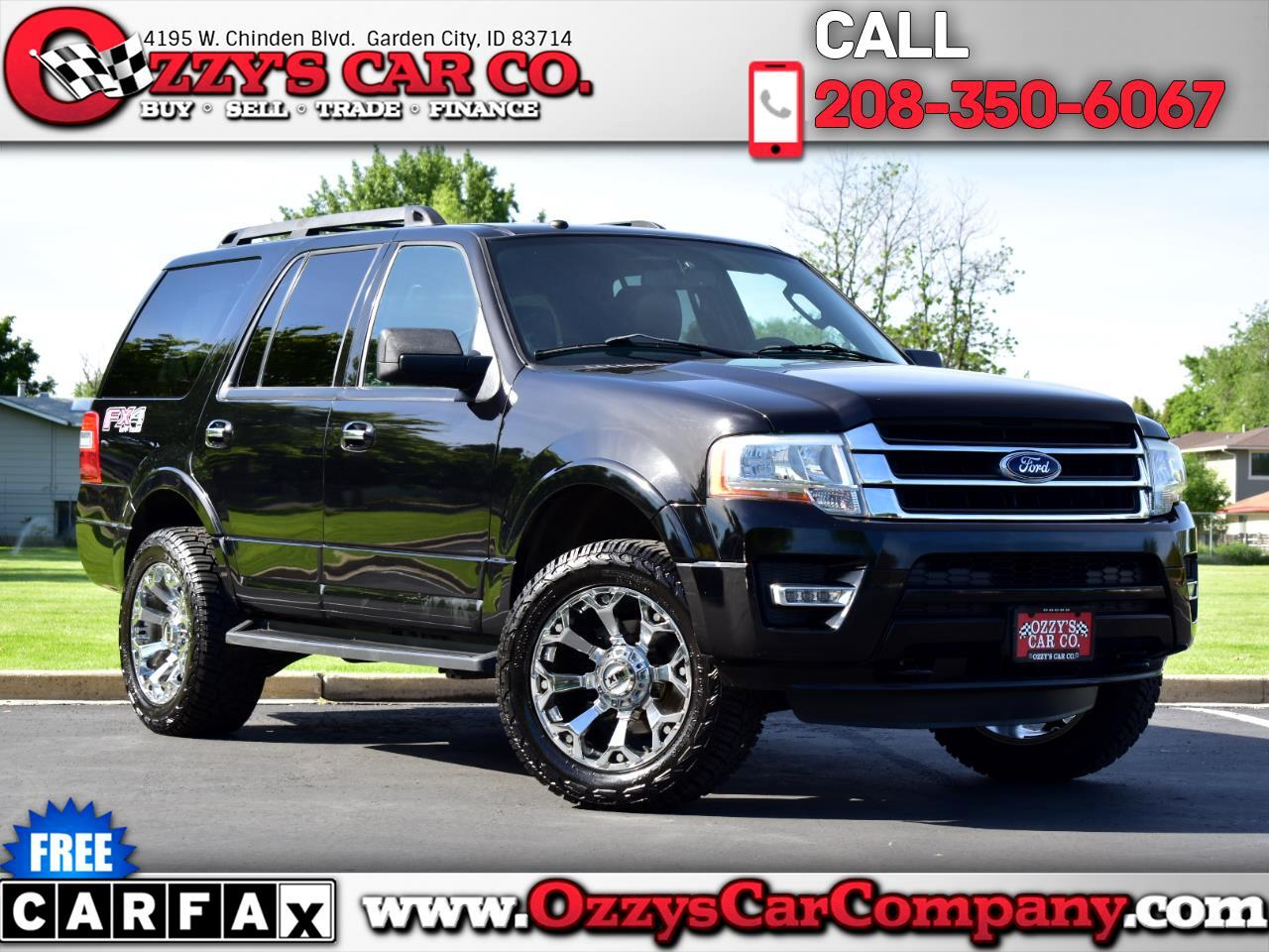 Ford Expedition 5.4L XLT FX4 Off-Road 4WD 2016