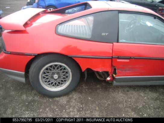 Pontiac Fiero GT 1986
